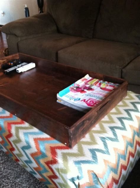 diy ottoman tray 17 best images about diy ottoman on pinterest round