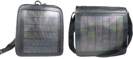 Picard Solar Bag Keeps Gadgets Juiced Up by Coolbusinessideas Solar Bag