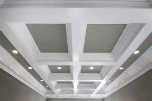 Bedroom Moulding Ideas Coffered Ceiling Systems Easy Coffered Ceiling In A Day