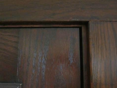 Staining Fiberglass Doors by Door Staining How To Refinish An Exterior Door Using Gel