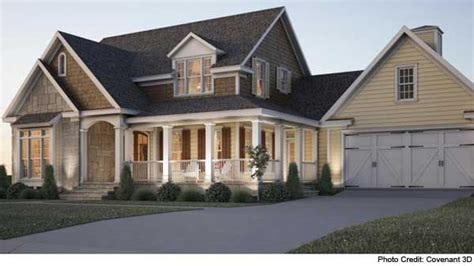 wrap around porch house plans southern living cottage farmhouse with wraparound porch love dream