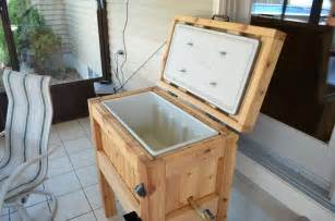 Wooden cooler box plans woodproject