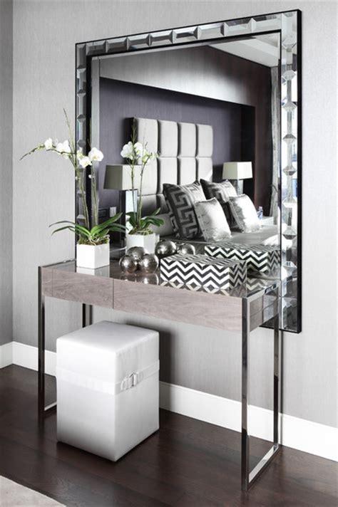 console table bedroom fitzrovia apartment dressing table contemporary