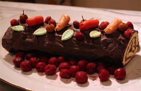 cuisine buche de noel b 251 che de no 235 l au chocolat mamy la cuisine de