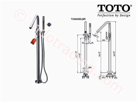 Kran Tembok Dinding Kuningan Kamar Mandi Model Toto Taman jual toto shower floor standing tx494selbr harga murah