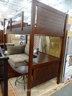 awesome loft bed  costco loft bed ideas kid beds bunk bed  desk kids room furniture