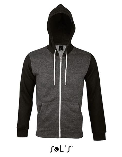 Hooded Zipped Jacket hooded zipped jacket silver herren kapu mit