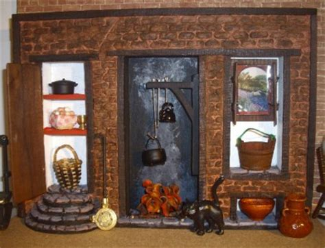 tudor witch kitchen inglenook fireplace