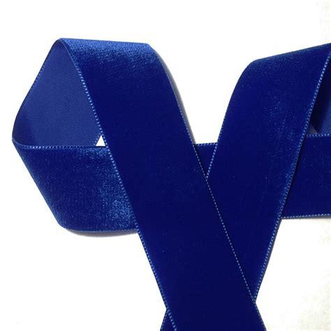 Velvet Click T Helena Robbon royal blue velvet ribbon 1 1 2 quot renaissance fabrics