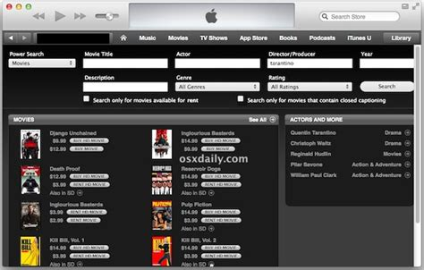 Powered Search Use Power Search In Itunes 11 With A Url Trick