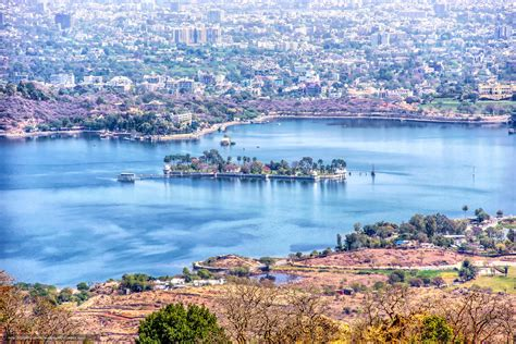 Download Wallpaper Fateh Sagar Lake Udaipur India Free