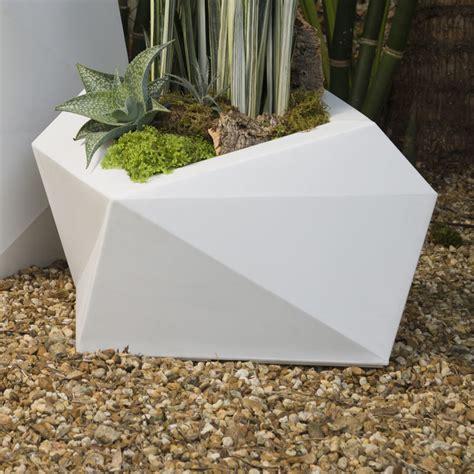Crescent Garden Planters by Crescent Garden Origami Pot Planter Reviews Wayfair