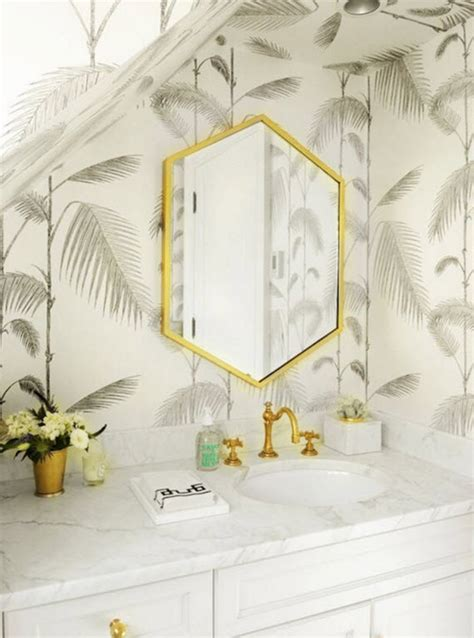 palm tree bathroom palm tree wallpaper bathroom by the zhush via
