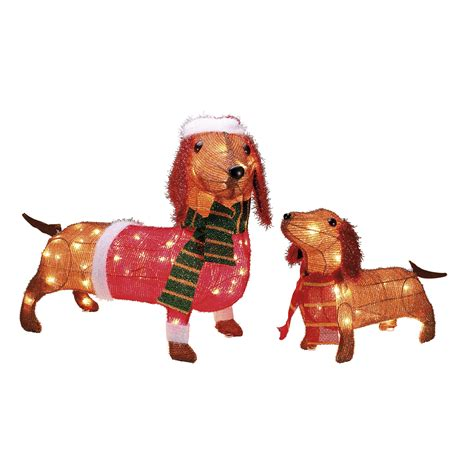 34 pre lit golden retriever christmas lawn ornament decorations outdoor psoriasisguru