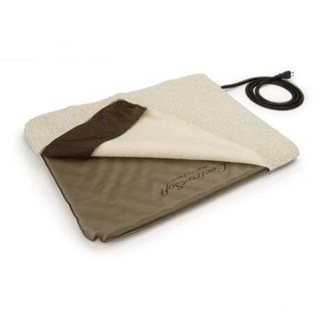 outdoor heated cat bed k h lectro soft outdoor heated bed cover