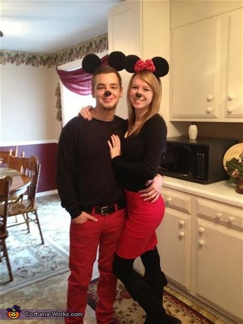 minnie  mickey mouse couples halloween costume