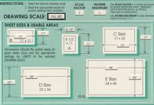 what size paper are blueprints printed on unit 2 cad card