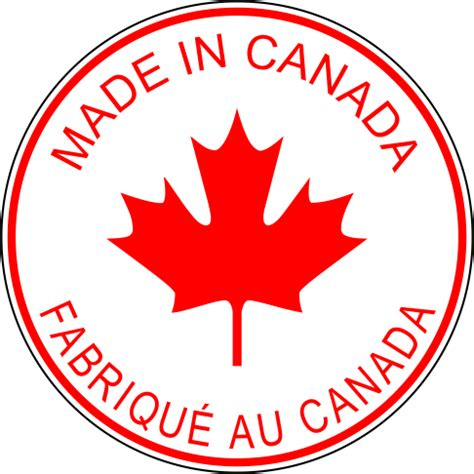 custom rubber st canada made in canada labels circle style 1 tst rubber st