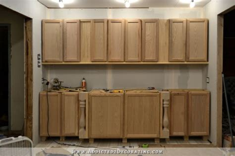 how to install kitchen cabinets yourself wall of cabinets installed plus how to install upper