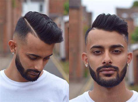 combover high fad comb over fade haircuts