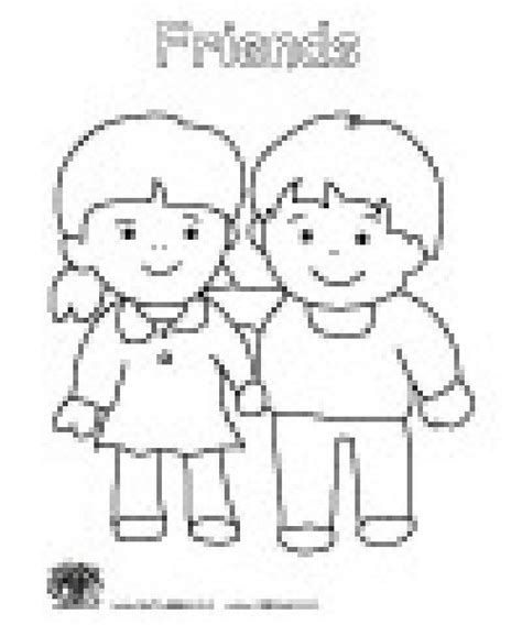 preschool coloring pages school friendship coloring pages for preschool friendship