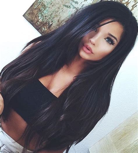 hairstyles for long black hair tumblr best 25 black hair extensions ideas on pinterest black