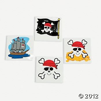 http www orientaltrading com pirate tattoos a2 39 1856