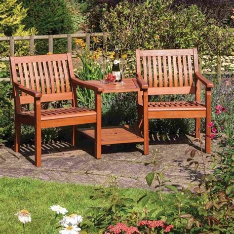 Garden Furniture Seats Rowlinson Willington Companion Seat Garden