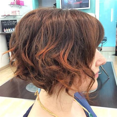 sideview of long wavy angled bob 26 best short bob hairstyles for women all the time