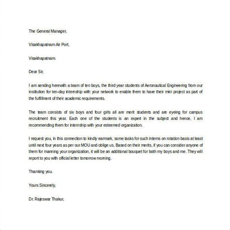 Reference Letter For Student Intern Letter Of Recommendation For Student 35 Free Documents In Word Pdf
