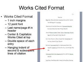 mla citation template works cited page mla