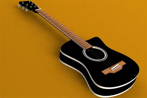 solidworks tutorial how to make guitar acoustic guitar solidworks 3d cad model grabcad