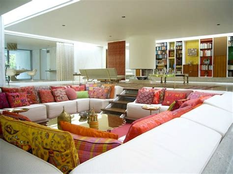 pit room conversation and comfy sunken living room design home