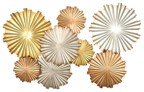metallic wall decor poppy pinwheel wall decor contemporary metal wall