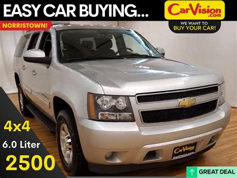 pre owned  chevrolet suburban  ls wd