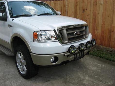 2008 f150 lights 2004 2008 f150 n fab front bumper light bar f045lb