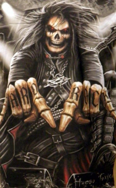 imagenes de calaveras heavy metal imagenes de calaveras de rock imagui