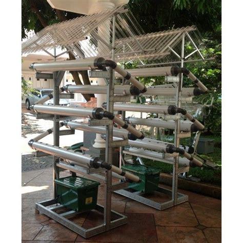 Starterkit Aquaponik nft set 54 lubang rumah hidroponik hydroponics