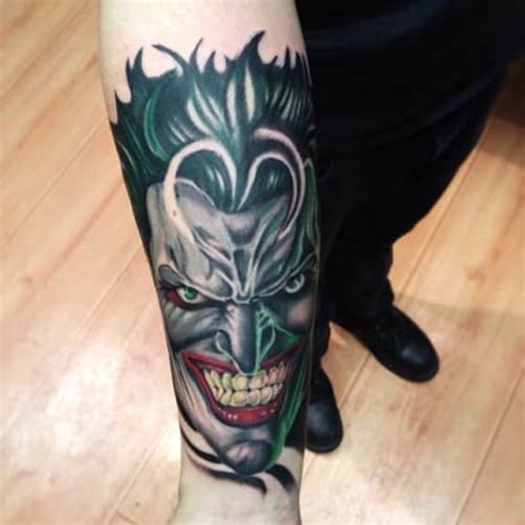 dc comic tattoos for men ideas and inspiration for guys