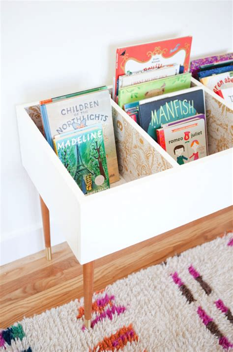 kids book storage ideas awesome diy kids book bin projects home design and interior