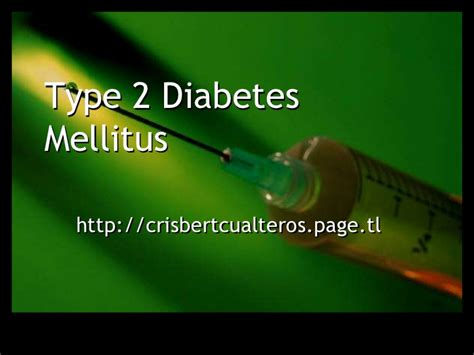 diabetes powerpoint templates type 2 diabetes mellitus