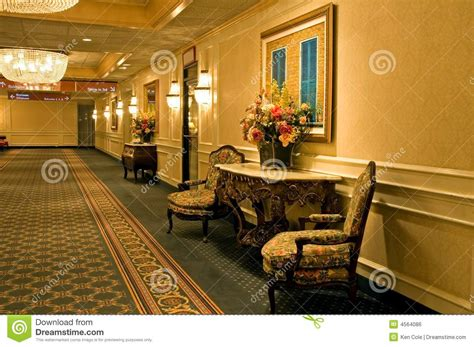 elegant hotel hallway royalty  stock image image