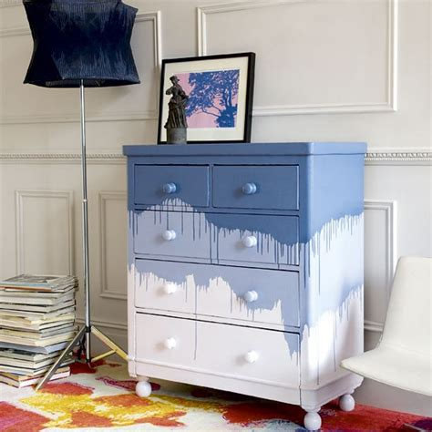 How To Paint Drawers by Update A Chest Of Drawers With Playful Paint How To