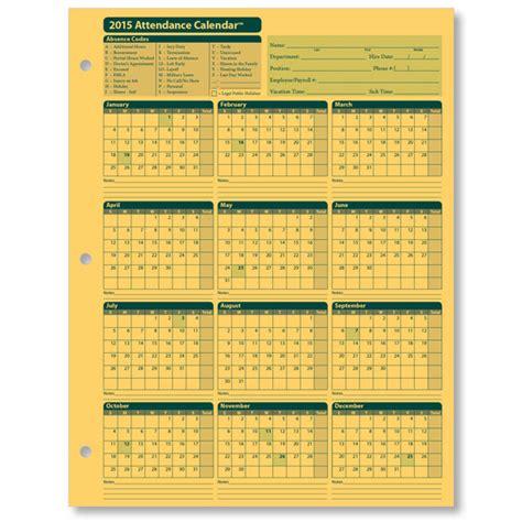 xerox printable calendar 2015 2015 attendance calendar