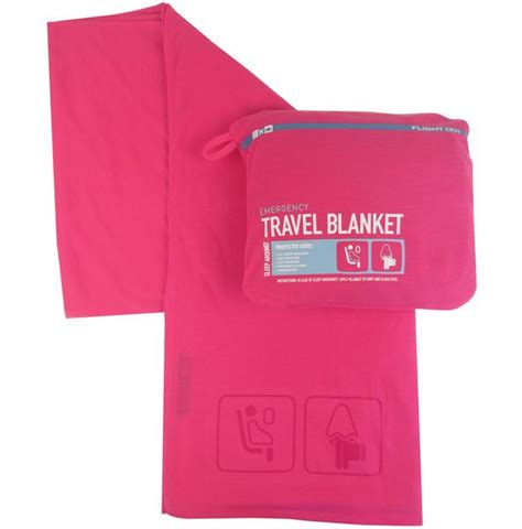 ripple sendok travelling set pink flight 001 go comfy pink travel blanket on the fly hair care
