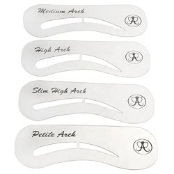 printable eyebrow stencils actual size eyebrow stencil learn how to use one to create beautiful