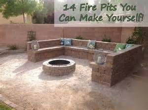 Backyard You Can Make 14 Pits You Can Make Yourself Home And Gardening Ideas