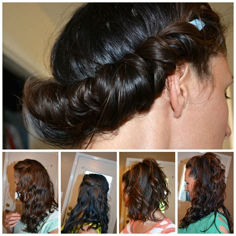 hairstyles to do overnight with wet hair no heat curls the no poo method