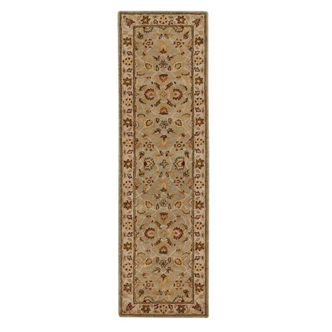rugs home decorators collection home decorators collection old london green ivory 2 ft 3