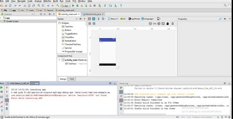 android studio apk android studio error while installing apk androidsolved